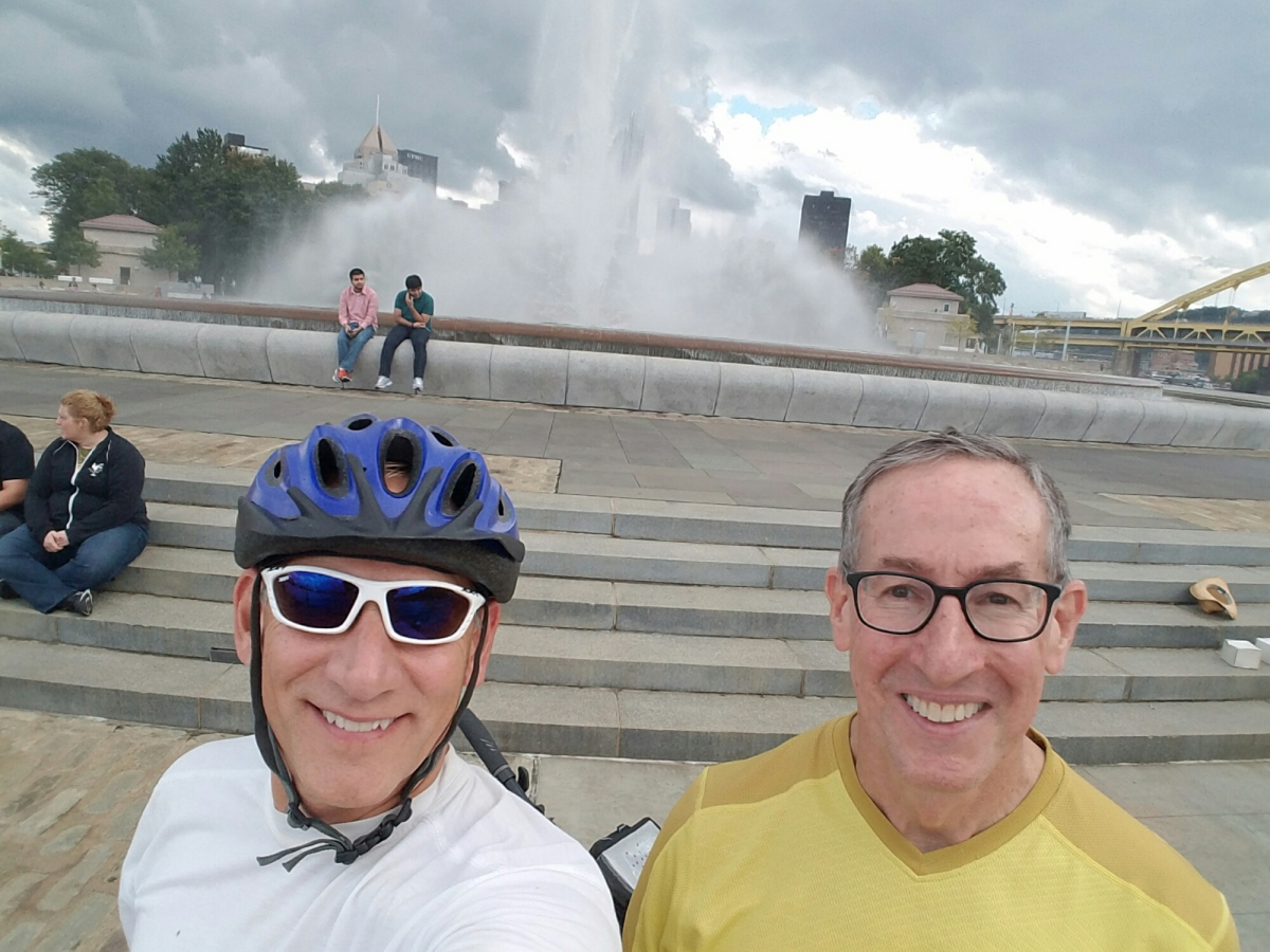 Biking the GapC&O, Eureka, Pittsburgh!